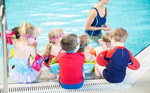 From Babies to adults swimming lessons at Princes Sports Club